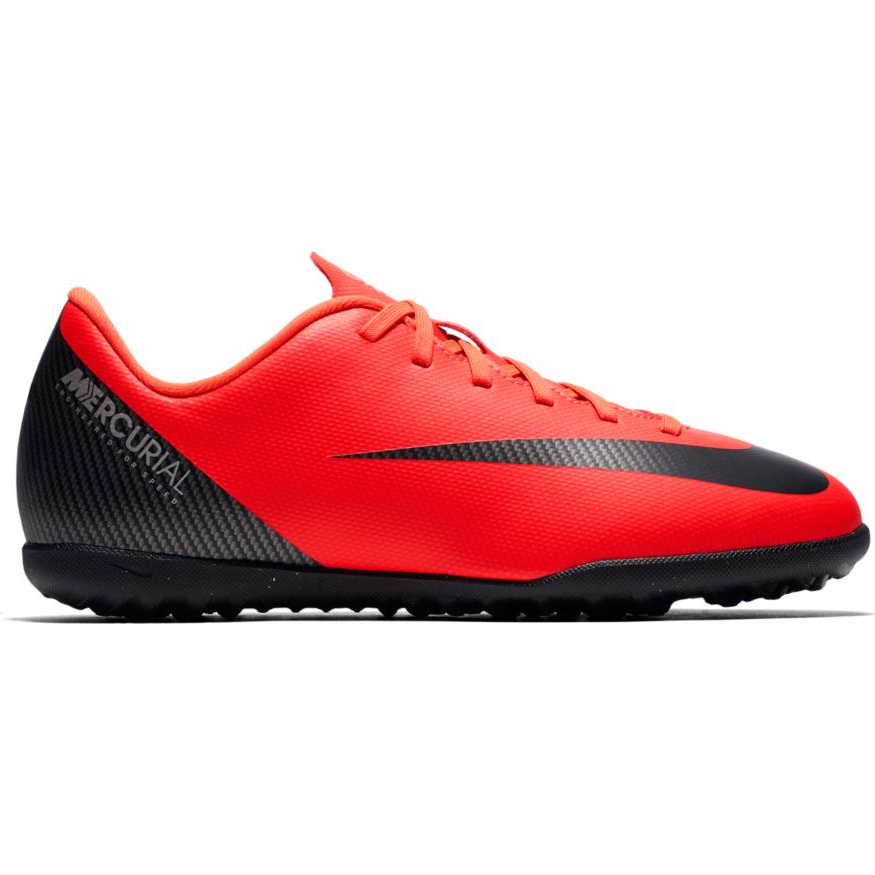 d442760766f Zapatillas fútbol Nike Vapor 12 club Cr7 tf rojo niño - Deportes Moya