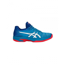 Zapatillas padel Asics Solution Speed FF clay azul hombre