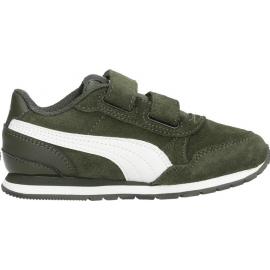Zapatillas Puma ST Runner v2 SD ps verde niño