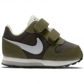Zapatillas Nike MD Runner 2 (TD) kaki/marrón baby