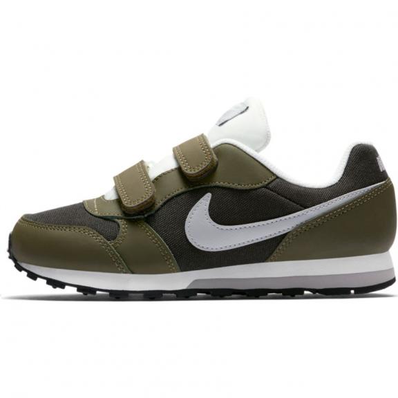 Zapatillas Nike MD Runner 2 psv kaki marrón niño - Deportes Moya f6e36a1caab08