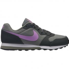 Zapatillas Nike Md Runner 2 (GS) gris/fucsia niña