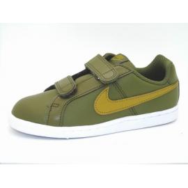 Zapatillas Nike Court Royale psv kaki/marrón niño