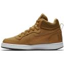 Zapatillas Nike Court Borough Mid (GS) marrón junior