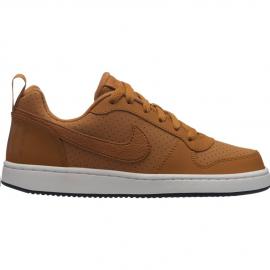 Zapatilas Nike Court Borough Low marrón junior