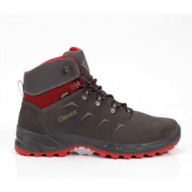 Botas trekking Chiruca Daimiel 09 gris/rojo hombre