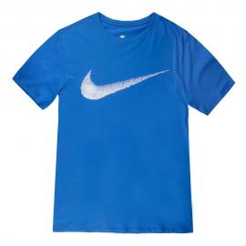 Camiseta Nike Sportwear Hantag swoosh azul hombre