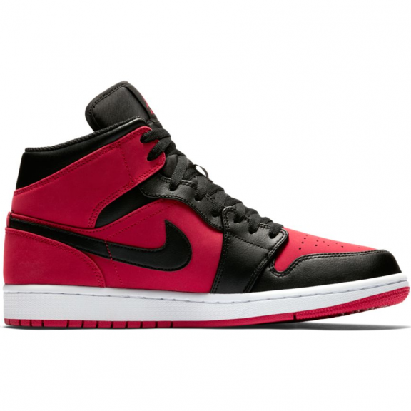 free shipping 58ba7 48783 ... cheap zapatillas nike air jordan 1 mid gs rojo negro junior 42b98 b435e