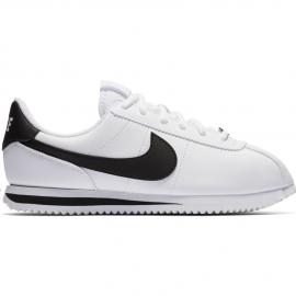 Zapatillas Nike Cortez Basic SL blanco/negro junior