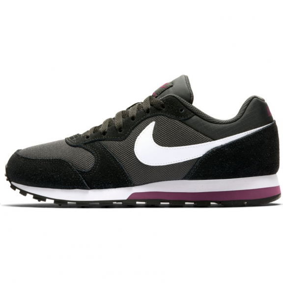 765c16b4 Zapatillas Nike MD Runner 2 negro/gris mujer - Deportes Moya