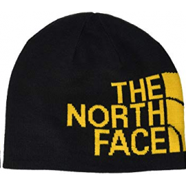 Gorro The North Face Reversible Banner negro/amarillo hombre