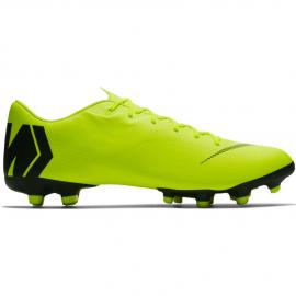 Zapatillas fútbol Nike Vapor12 Academy FG/MG amarilla hombre