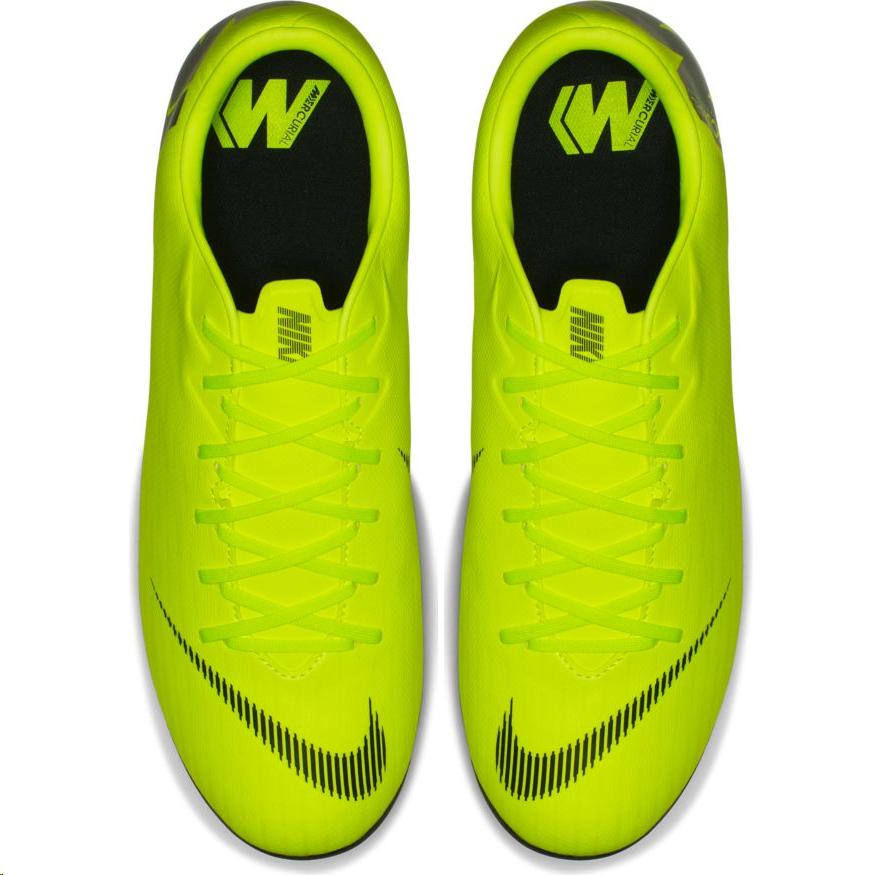 30f080a5e08ca Zapatillas fútbol Nike Vapor12 Academy FG MG amarilla hombre - Deportes Moya