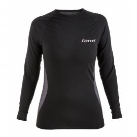 Camiseta térmica Land Veleta negro mujer