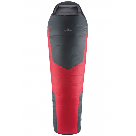 Saco pluma Ferrino Lightec 1200 rojo/gris