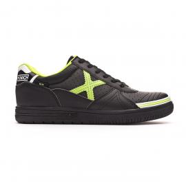 Zapatillas fútbol Munich G-3 Profit 870 negro/verde junior