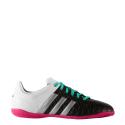 Zapatillas fútbol adidas Ace 15.4 In J blanco negro junior