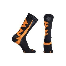 Calcetines altos Northwave Extreme Winter negro-naranja