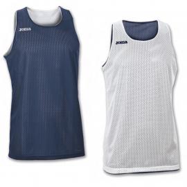 Camiseta baloncesto Joma Aro reversible azul/blanco