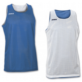 Camiseta baloncesto Joma Aro reversible royal/blanco unisex