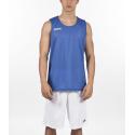 Camiseta baloncesto Joma Aro reversible royal/blanco junior