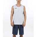 Camiseta baloncesto Joma Aro reversible marino blanco junior