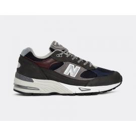 Zapatillas New Balance 991 gris/azul hombre