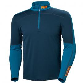 Camiseta térmica M/L Helly Hansen Lifa Active 1/2 Zip azul