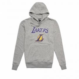 Sudadera Hombre Gris New Era Los Ángeles Lakers