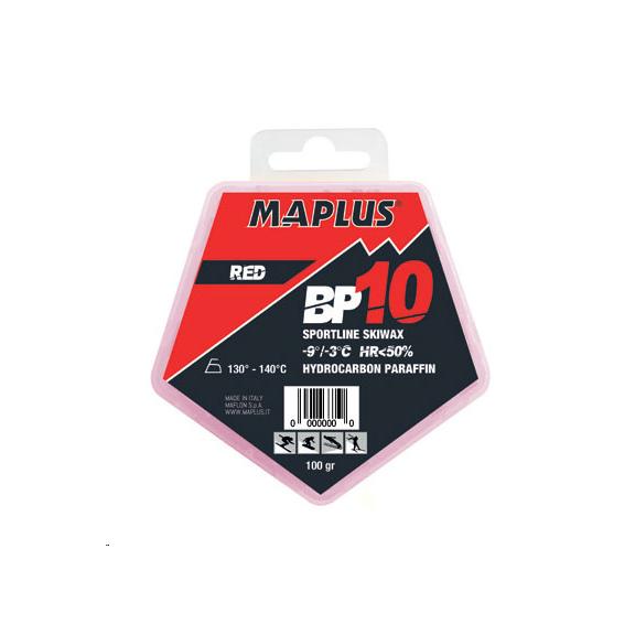 Cera Maplus Bp10 roja 100gr