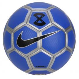 Balón fútbol sala Nike Menor X azul/plata