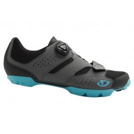 Zapatillas Giro Cylinder Mtb gris-azul mujer