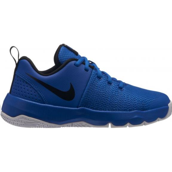 Zapatillas baloncesto Nike Team Hustle Quick azul negro niño ... e64b478c4e0