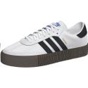 Zapatillas adidas Sambarose blanca/negra mujer