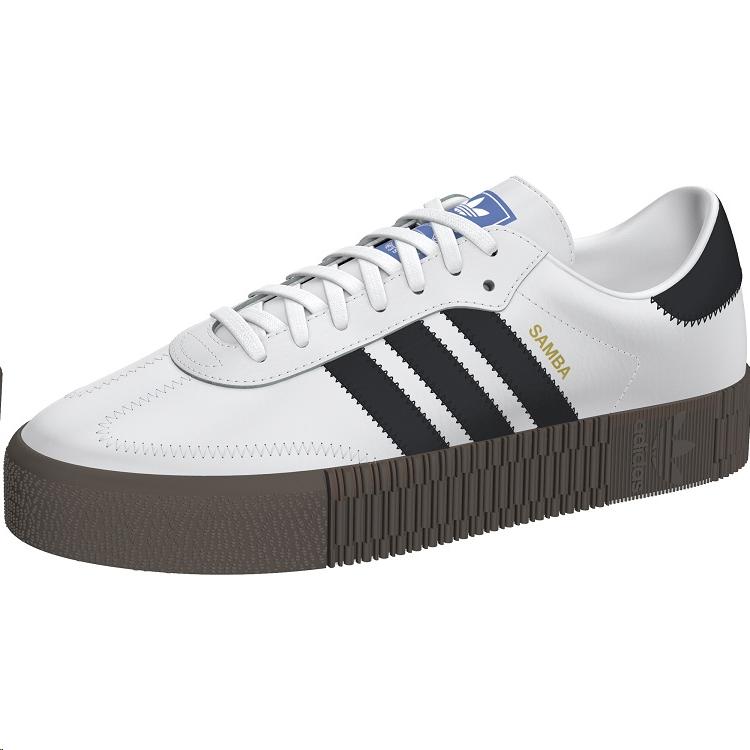 Zapatillas Adidas Sambarose BlancaNegra Mujer Deportes Moya