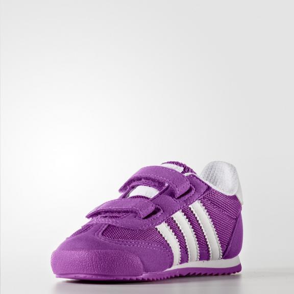 Zapatillas adidas Dragon Cf I morado blanco bebe