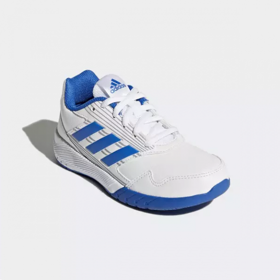 Zapatillas Adidas Altarun K Blanco Azul Junior - Deportes Moya 43bc8a39185