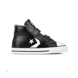 Zapatillas Converse Star player 2V mid negra niño