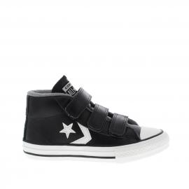 Zapatillas Conver Star Player 3V mid negra niño