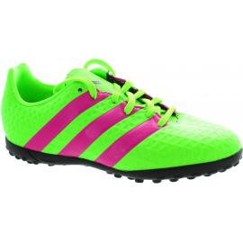 Botas futbol adidas Ace 16.4 Tf J verde fuxia junior