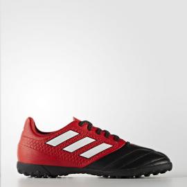 Botas futbol adidas Ace 17.4 Tf J rojo negro junior