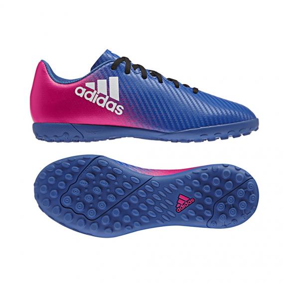 Botas Fútbol Adidas X 16.4 Tf J Azul Junior - Deportes Moya a43395b92f826