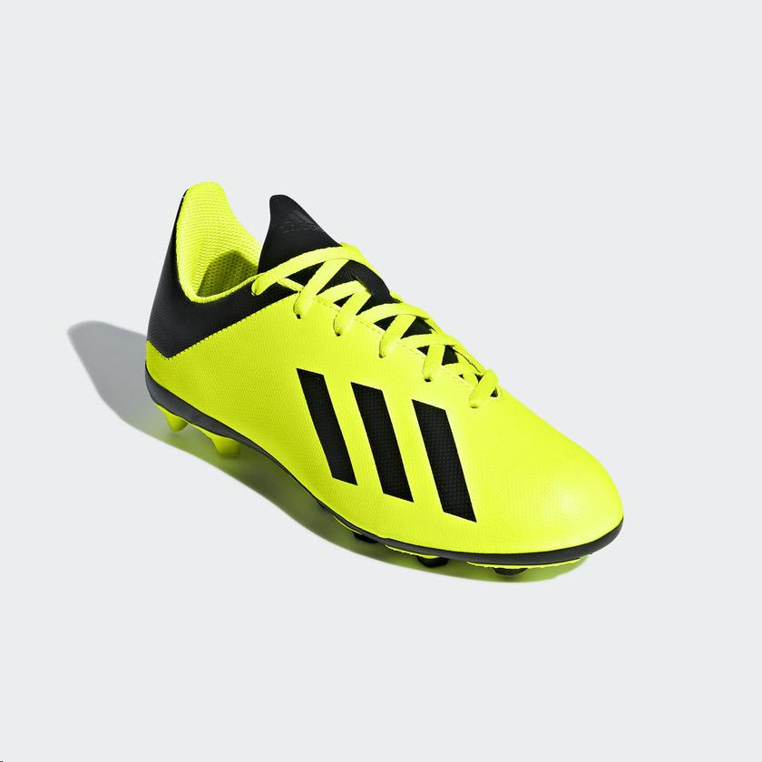 boutique de salida último diseño precio limitado Zapatillas fútbol adidas X 18.4 FxG amarillas niño - Deportes Moya