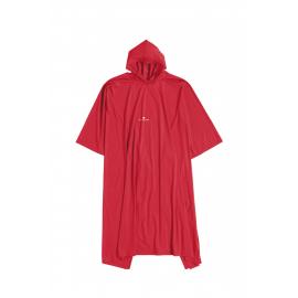 Poncho Ferrino PVC rojo unisex