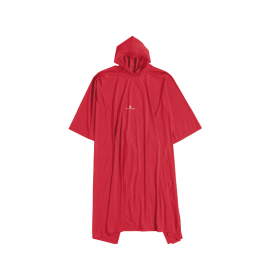Poncho Ferrino PVC rojo junior