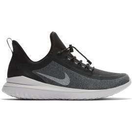 Zapatillas running Nike Renew Rival Shield negra niño