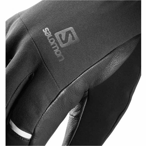 proporcionar una gran selección de zapatillas de skate diseño popular Guantes Esqui Salomon Propeller Dry negro hombre