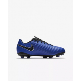 Zapatillas fútbol Nike Legend 7 Academy FG azul junior