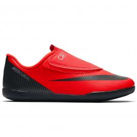 Zapatillas fútbol Nike vapor 12 club (psv) CR7 naranja niño