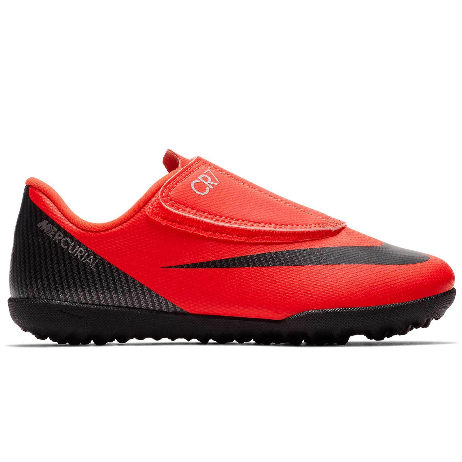 30cdf98d83d Zapatillas fútbol Nike VaporX 12 club CR7 psv naranja niño - Deportes Moya